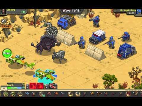 Battle Nations Boss Strike 10: Dr. Vogel