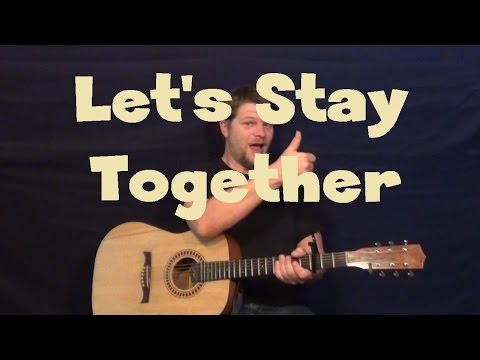 Let's Stay Together (Al Green) Guitar Lesson How to Play Tutorial