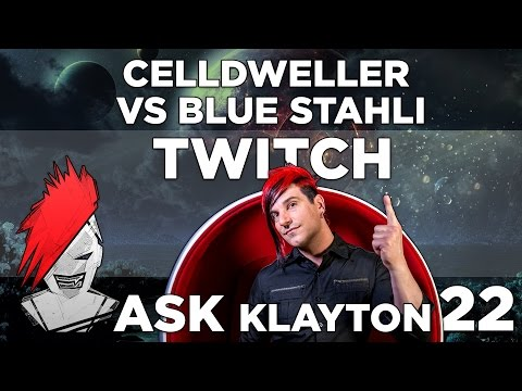 Ask Klayton EP.22  - Celldweller vs  Blue Stahli (Twitch Edition)