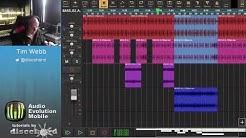 Audio Evolution Mobile Studio - Tutorial 5: Editing on the Timeline