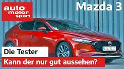 Mazda 3 Skyaktiv-G 2.0: Sieht der nur gut aus oder kann der auch was? Test/Review | auto motor sport