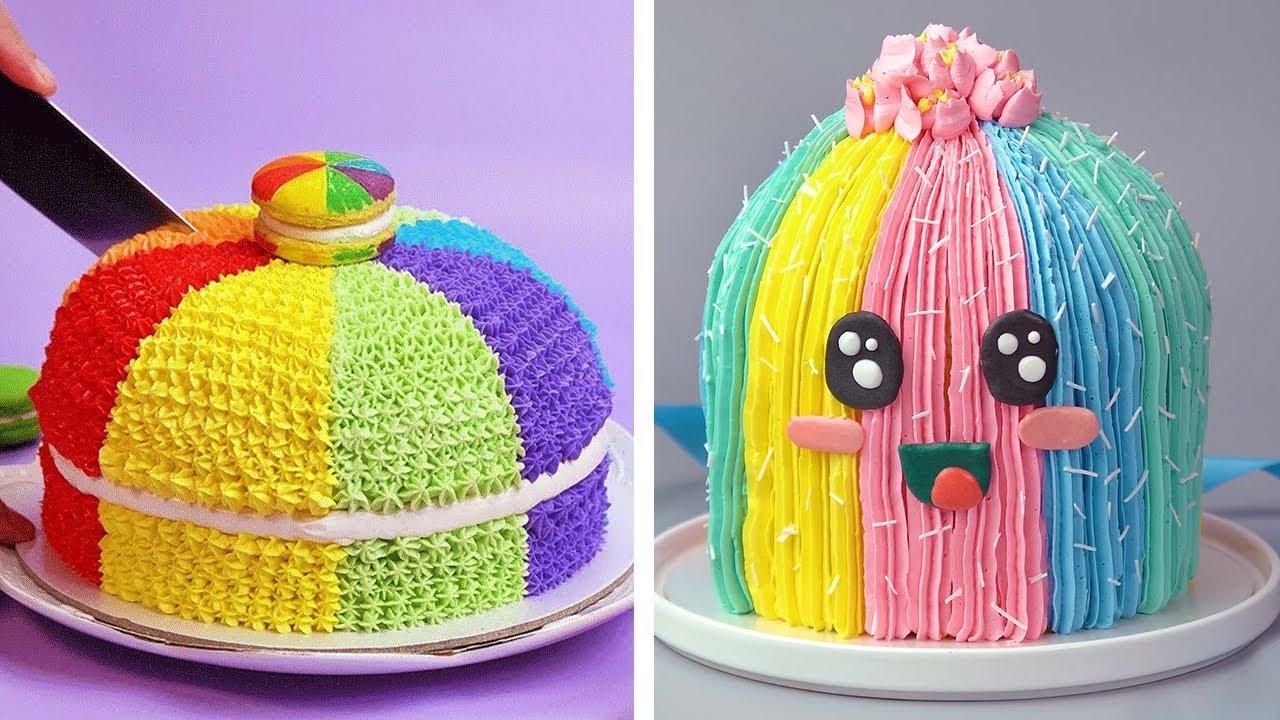 Creative Cactus Cake Decorating Ideas For Birthday   So Yummy Cake Tutorials   Perfect Cake
