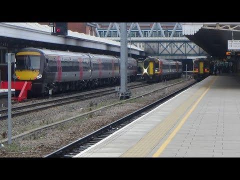 Trains at Nottingham - 24/11/2018