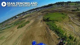 HELMET CAM: Sean Demoreland - 250 2 Stroke / Blue Diamond MAMA
