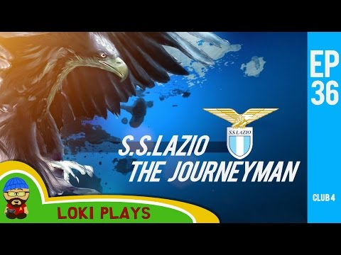 🐺🐶 Let's Play FM17 - The Journeyman C4 EP36 - Lazio v Roma - Football Manager 2017