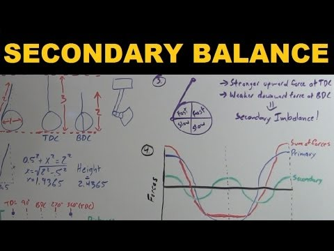 Secondary Engine Balance - Explained