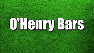 O'henry Bars - My3 Foods - Easy To Learn