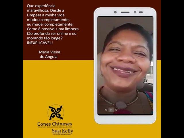 Diretamente de Angola Maria Vieira