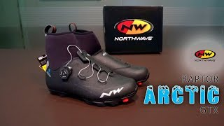 Zapatillas _Northwave raptor Arctic GTX_ *Vs* _Invierno_