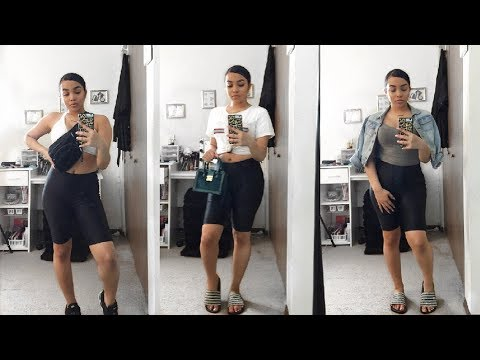 [VIDEO] – HOW TO STYLE: BIKER SHORTS | OUTFIT IDEAS | LOOKBOOK 2019