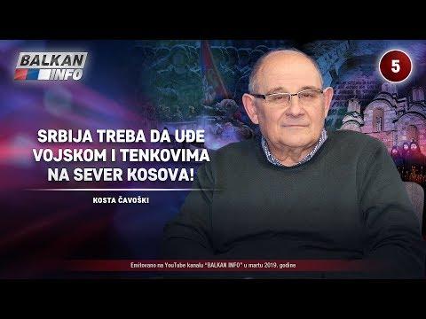 INTERVJU: Kosta Čavoški - Srbija treba da uđe vojskom i tenkovima na sever Kosova! (10.3.2019)