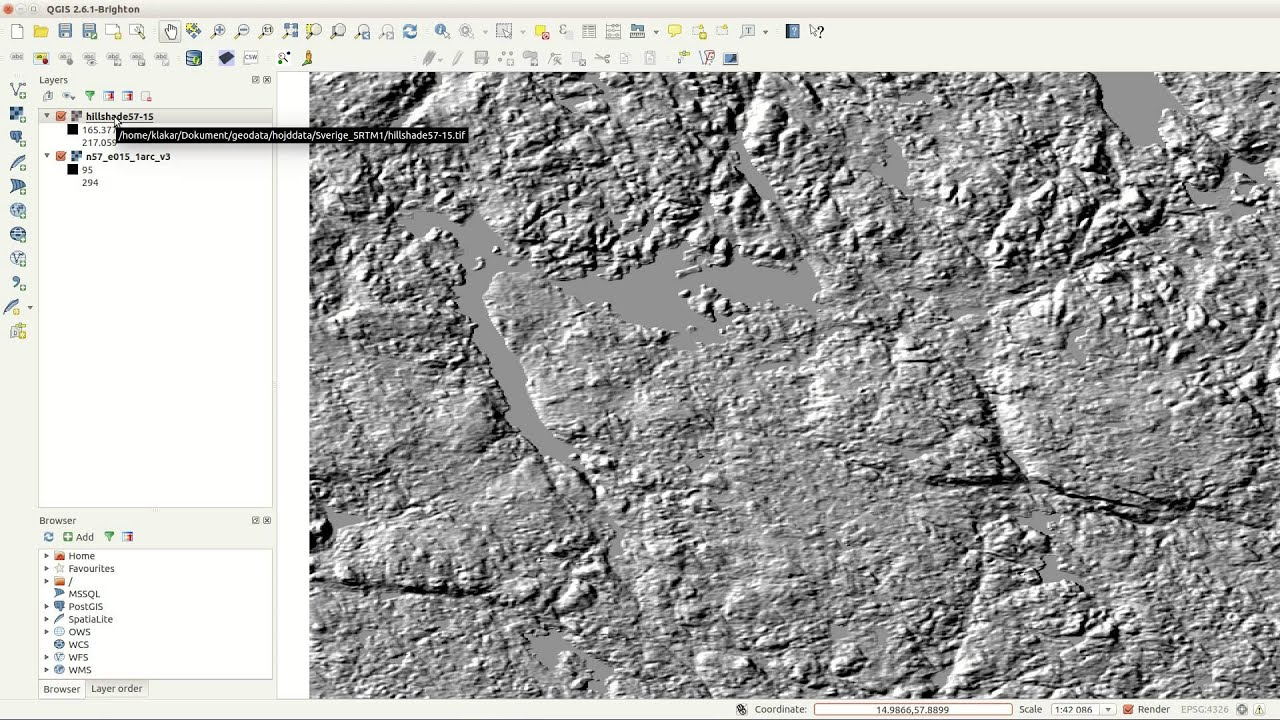 QGIS Quick Tip - 3D effect on any map