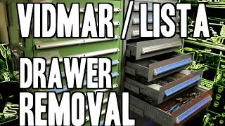 How To : Vidmar & Lista Cabinet Drawer Removal / Installation