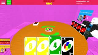 Roblox uno with bluemoonwolf640