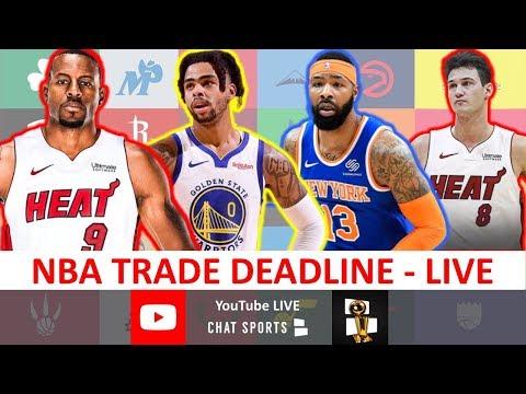 2020 NBA Trade Deadline: Live