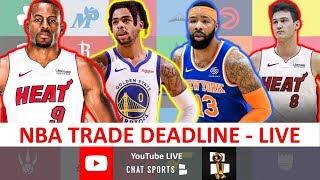 2020 NBA Trade Deadline: Filmed Live