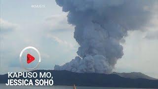 Kapuso Mo, Jessica Soho: Paano kung abutan ka ng pagputok ng bulkan?