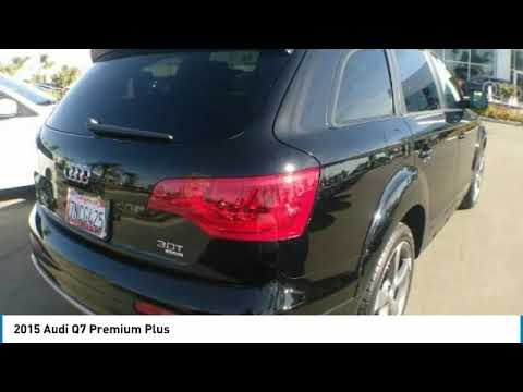 2015 Audi Q7 2015 Audi Q7 Premium Plus FOR SALE in Bakersfield, CA U1169