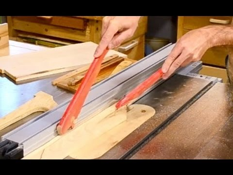 Making push sticks - YouTube
