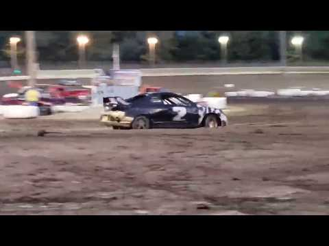 Sycamore Speedway Racing Sept 6, 2019 Compact Qualifying