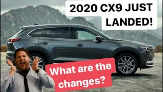 2020 Mazda CX-9 JUST LANDED | What are the changes? CAPTAIN CHAIRS MAYBACH STYLE?