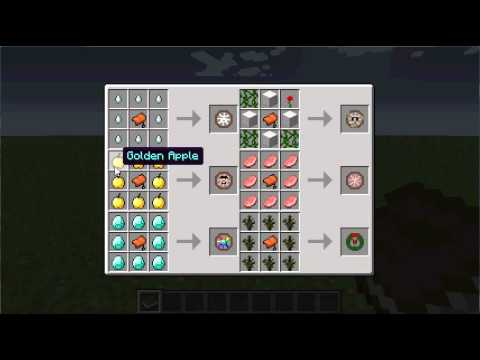how to open the recipe book in minecraft