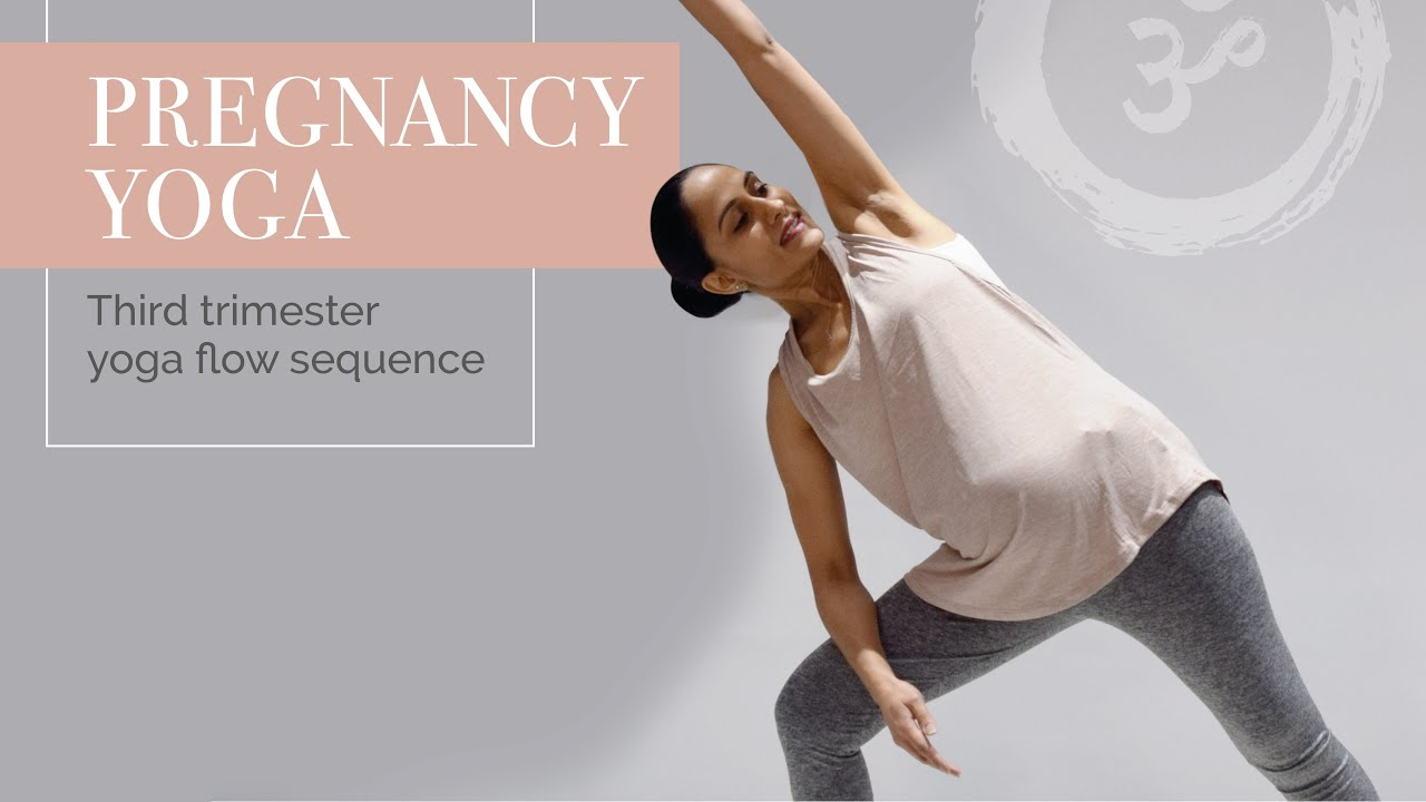 Pregnancy Yoga | Third Trimester Yoga Flow Sequence  | Yoga with Jaina