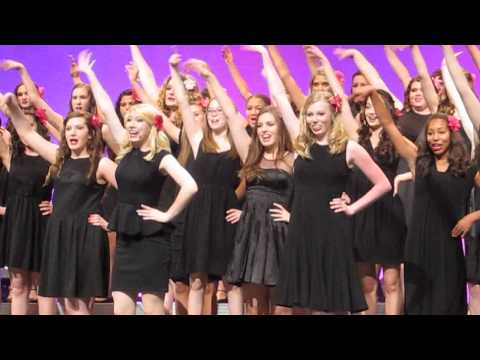 The  Women of Pinnacle High School Choir performing Popular from the musical Wicked