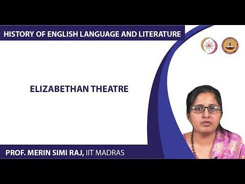 Lecture 6b - Elizabethan Theatre