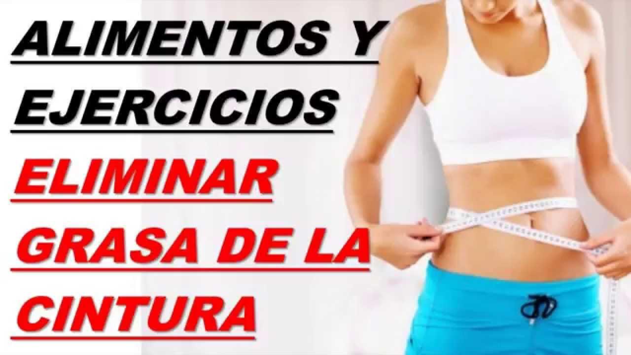 Como perder la grasa de la cintura
