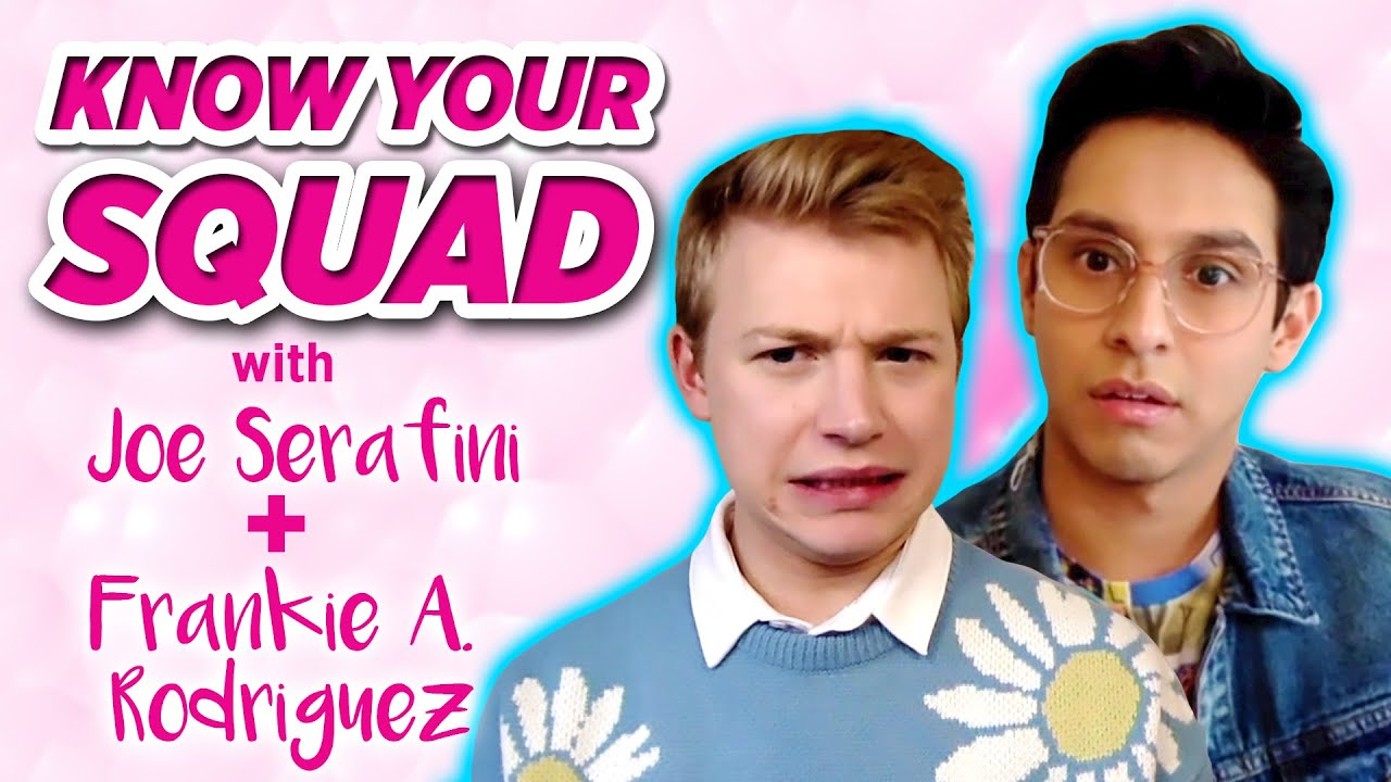 HSMTMTS Stars Frankie A. Rodriguez and Joe Serafini Play Know Your Squad