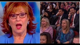 """JOY SCREAMS TRUMP SUPPORTERS  """"DRANK CULT KOOL AID"""" AUDIENCE GIVES SMACKDOWN!"""