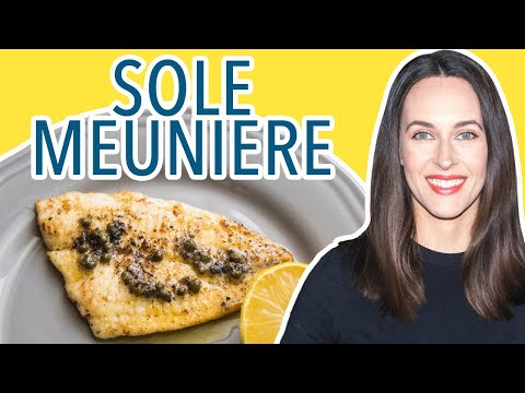 Sole Meuniere - How To Cook Fish - Easy Fish Recipe