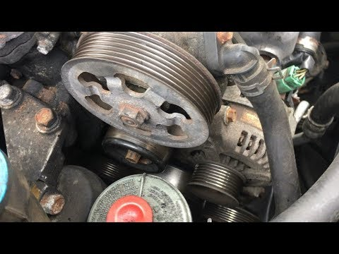 Grinding Squealing Noise | What Could It Be? AC Compressor Clutch, Pulleys  Or Engine | Test Belt Off