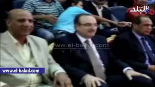 بالفيديو والصور.. محافظ بني سويف يشهد بالمهرجان الرياضي بمناسبة الثورة