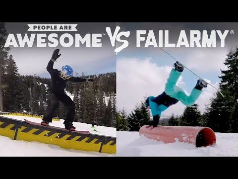 Thumbnail: FailArmy Presents: People Are Awesome! Wins vs. Fails #3