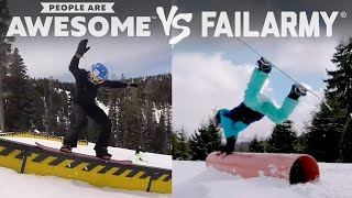 Video FailArmy Presents: People Are Awesome! Wins vs. Fails #3 download MP3, 3GP, MP4, WEBM, AVI, FLV Mei 2018