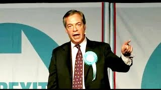 Nigel Farage: A Positive Political Movement - Brexit Party Rally, Durham, 11.05.2019