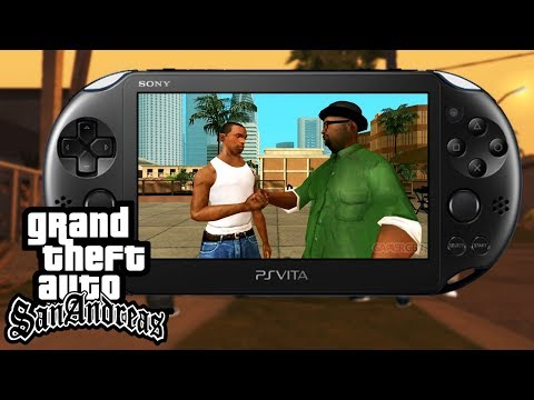 GRAND THEFT AUTO SAN ANDREAS SUR PS VITA ? GTA SA Unity Gameplay