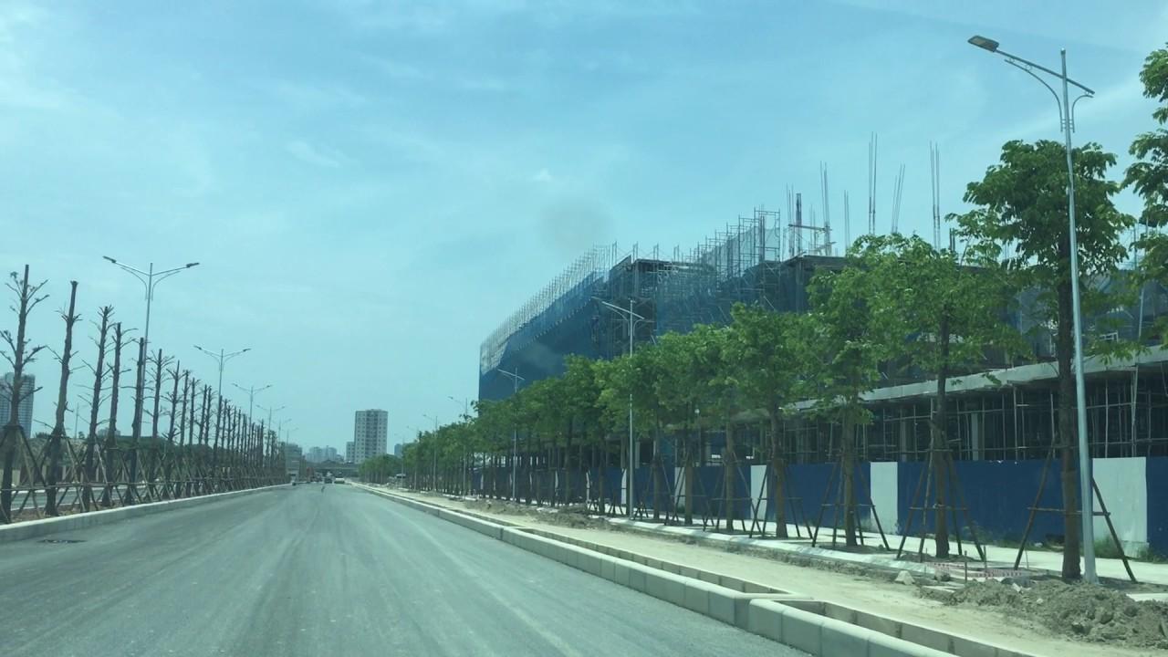 Tiến độ trục đường Nguyễn Xiển – Xa la – Thanh Hà 2017