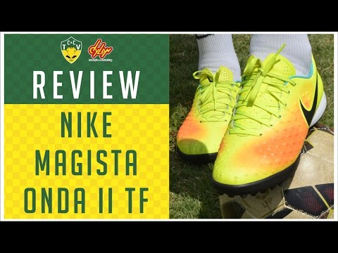 CHUTEIRA NIKE MAGISTA ONDA II TF - TESTE E REVIEW