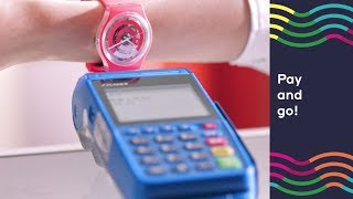 SWATCH INNOVATION -SWATCH PAY - THE COOLEST WAY TO PAY