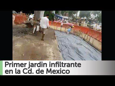 Arne aus den Ruthen: Primer jardin infiltrante en Mexico