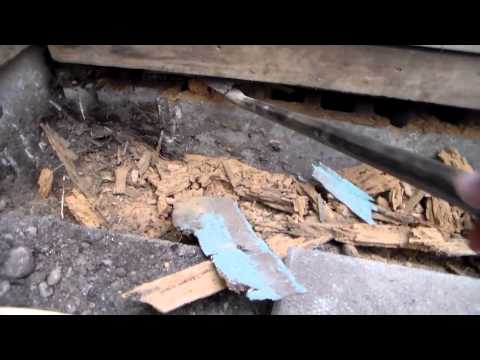 Sill plate Replacement Front Building pt1