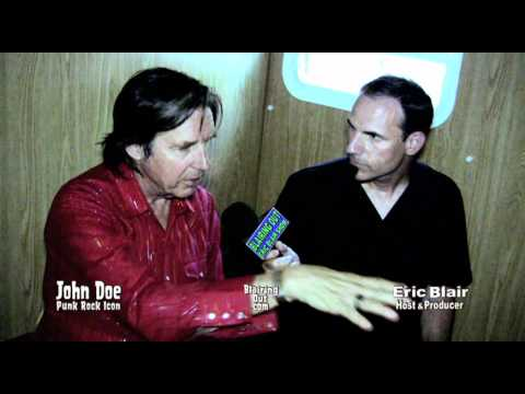 """""""X""""s JOHN DOE talks with Eric Blair  about American Idol and Elvis"""