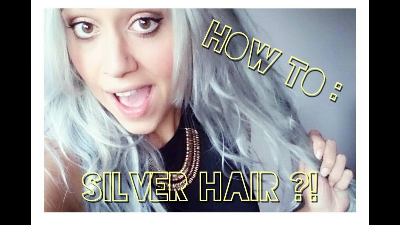 silver hair cheveux gris coloration cheveux naturel extensions testavis marque pravana - Test Coloration Cheveux