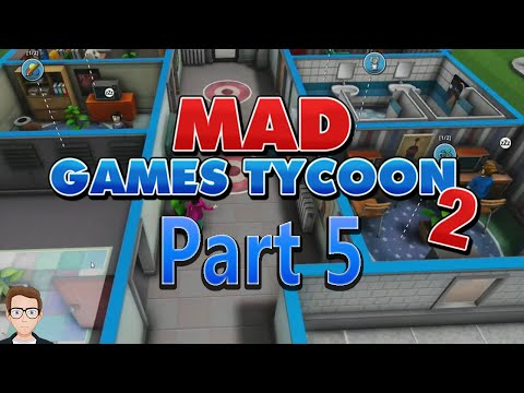 Mad Games Tycoon 2 Part 5- Mass Expansion Time |