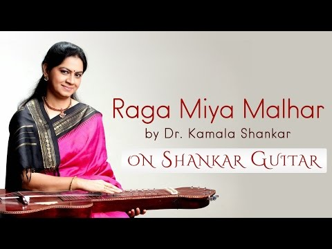 Indian Classical Instrumental | Raga Miya Malhar | Shankar Guitar