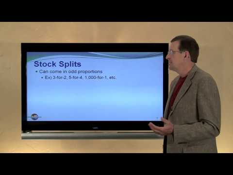 14 -- Stock Splits and Stock Dividends