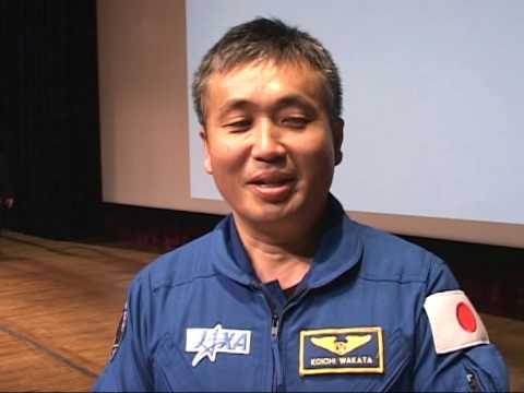Astronaut Koichi Wakata & The Big Bang Theory